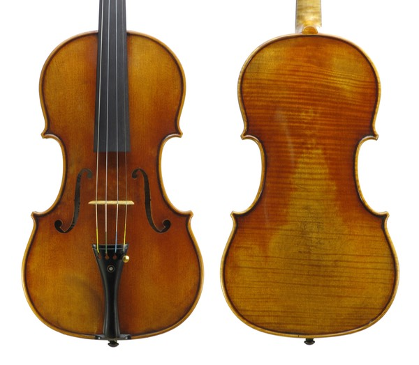 Voss Violins workshop violin 2 (Fischbach)