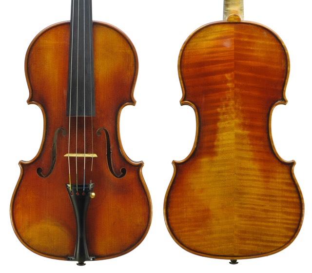 Voss Violins workshop violin 1 (Fischbach)